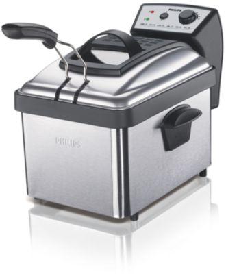 Metalen friteuse met uitneembare pan, 1000 g