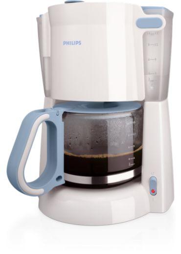 Philips  Máy pha cà phê Với ly thủy tinh HD7448/70