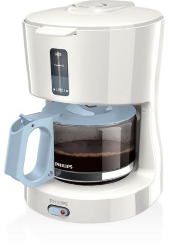 Philips  เครื่องต้มกาแฟ มีเหยือกแก้ว HD7450/70