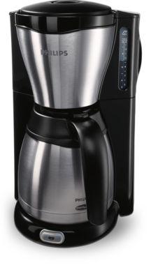 Philips Viva Collection Koffiezetapparaat HD7546/20 Met thermische kan, zwart en metaal