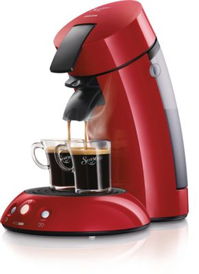 Origineel Donkerrood Koffiepadsysteem