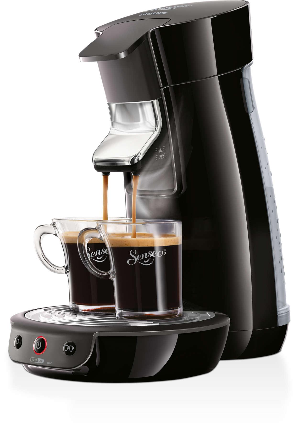 viva caf kaffeepadmaschine hd7825 60 senseo. Black Bedroom Furniture Sets. Home Design Ideas