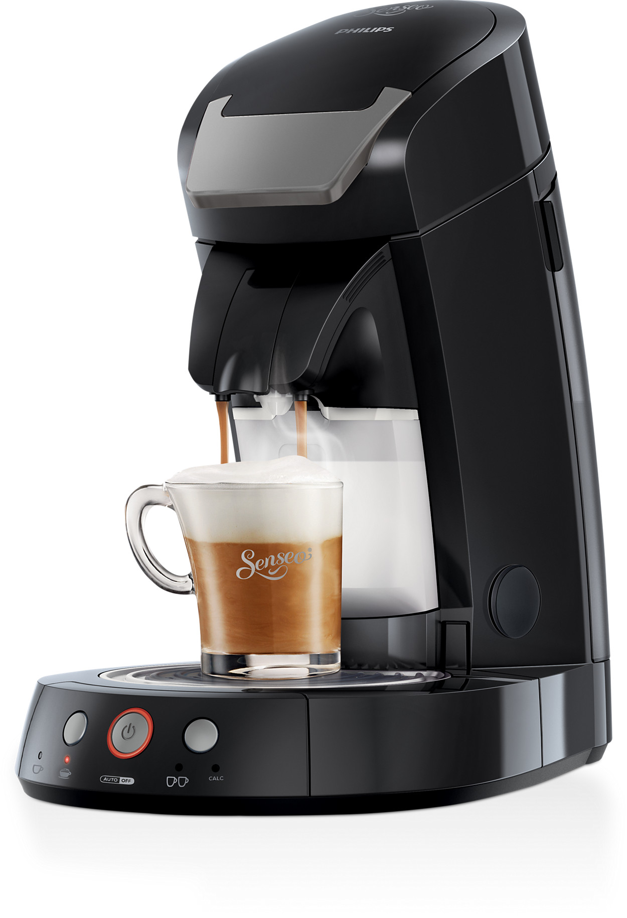 de senseo cappuccino select koffiepadmachine hd7853 60 kopen. Black Bedroom Furniture Sets. Home Design Ideas