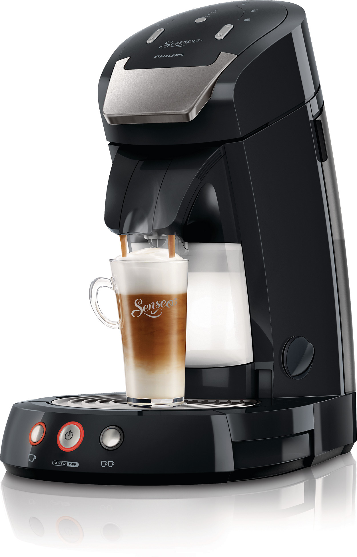 produkt senseo latte select kaffeepadmaschine hd7854 60. Black Bedroom Furniture Sets. Home Design Ideas