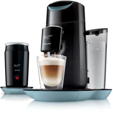 SENSEO® Twist & Milk SENSEO®-kaffemaskin och mjölkskummare