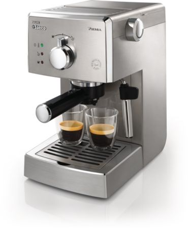 Philips Saeco Poemia Manual Espresso machine