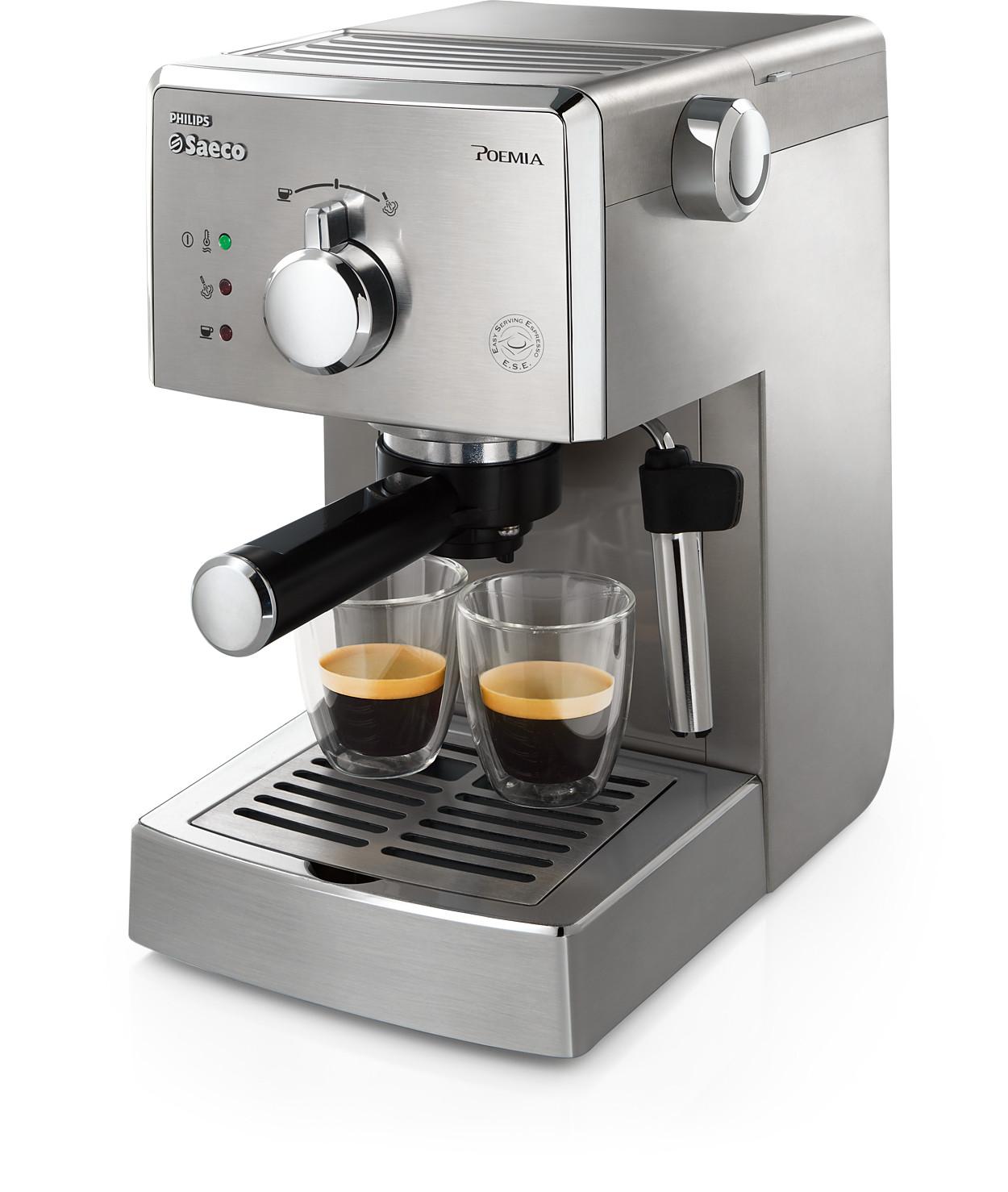 Acheter le saeco poemia machine espresso manuelle hd8327 91 - Acheter une machine a cafe ...