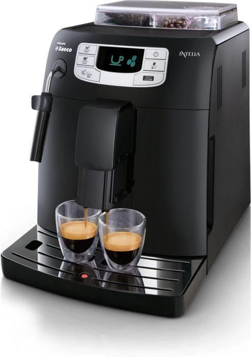 saeco intelia cappuccino espresso machine