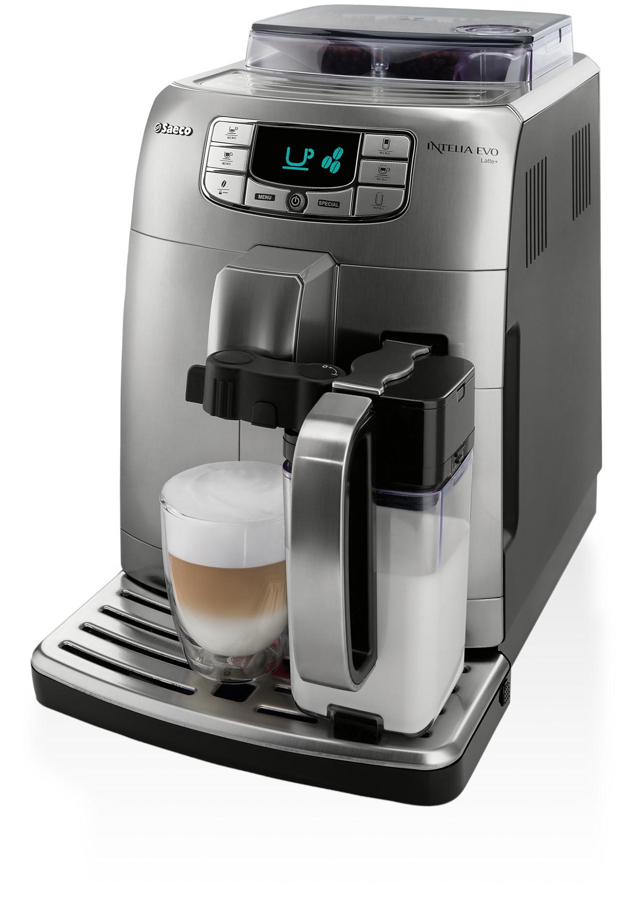 intelia evo kaffeevollautomat hd8754 11 saeco. Black Bedroom Furniture Sets. Home Design Ideas