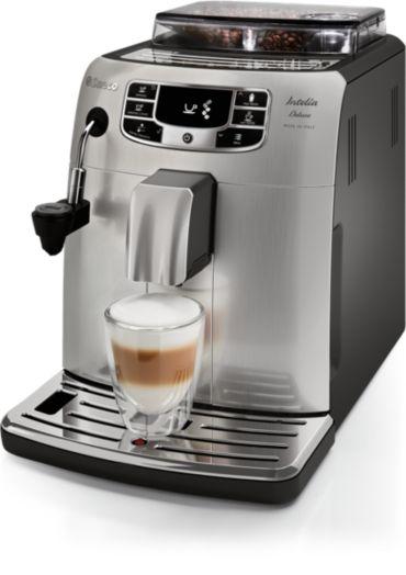 Saeco Intelia Deluxe Carafe Super-automatic espresso machine
