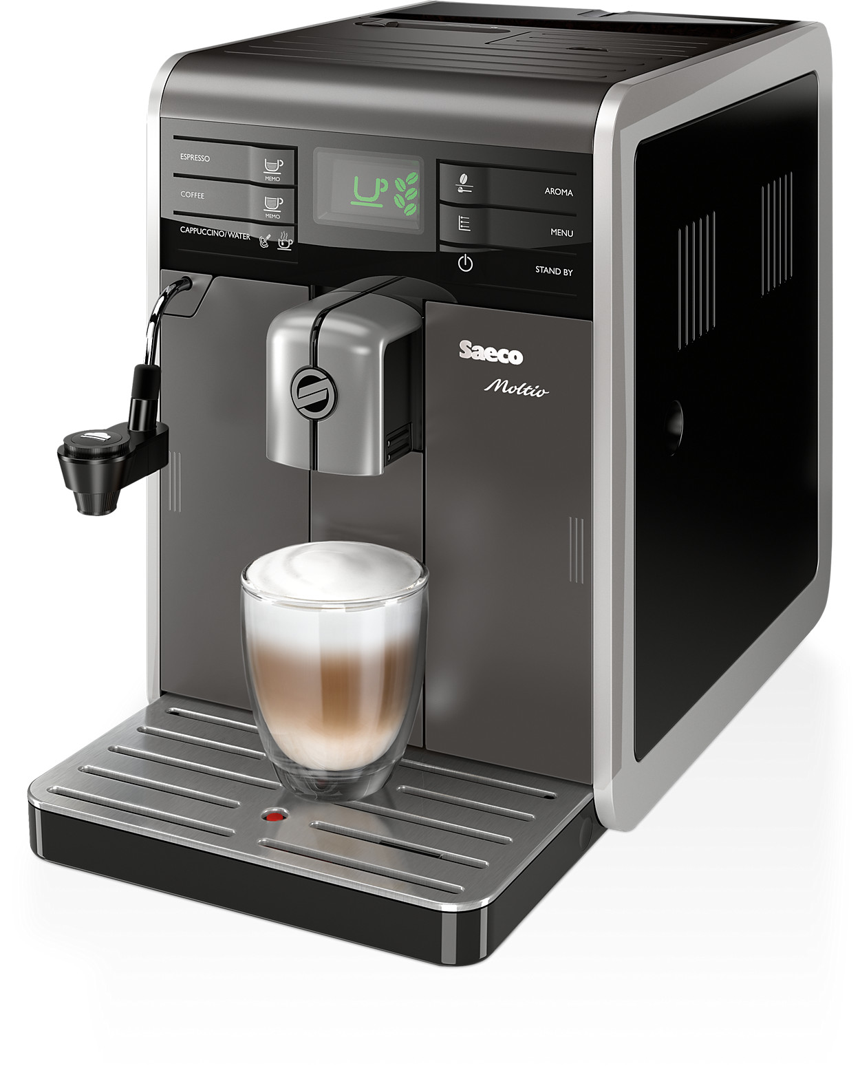 buy the saeco moltio super automatic espresso machine. Black Bedroom Furniture Sets. Home Design Ideas