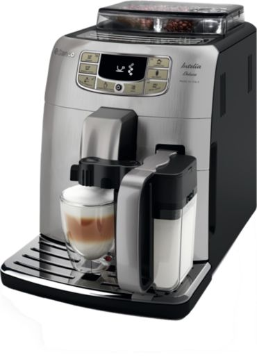 Saeco Intelia Deluxe Carafe Super-automatic espresso machine