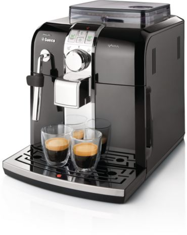 Syntia Focus Black Automatic espresso machine