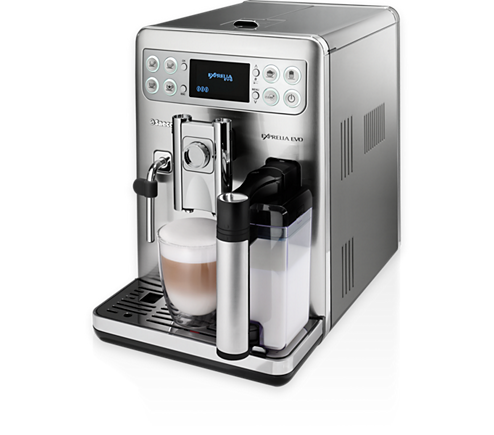 exprelia evo super automatic espresso machine hd8857 47. Black Bedroom Furniture Sets. Home Design Ideas
