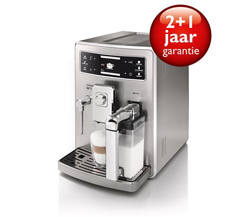 xelsis volautomatische espressomachine hd8944 01 saeco. Black Bedroom Furniture Sets. Home Design Ideas