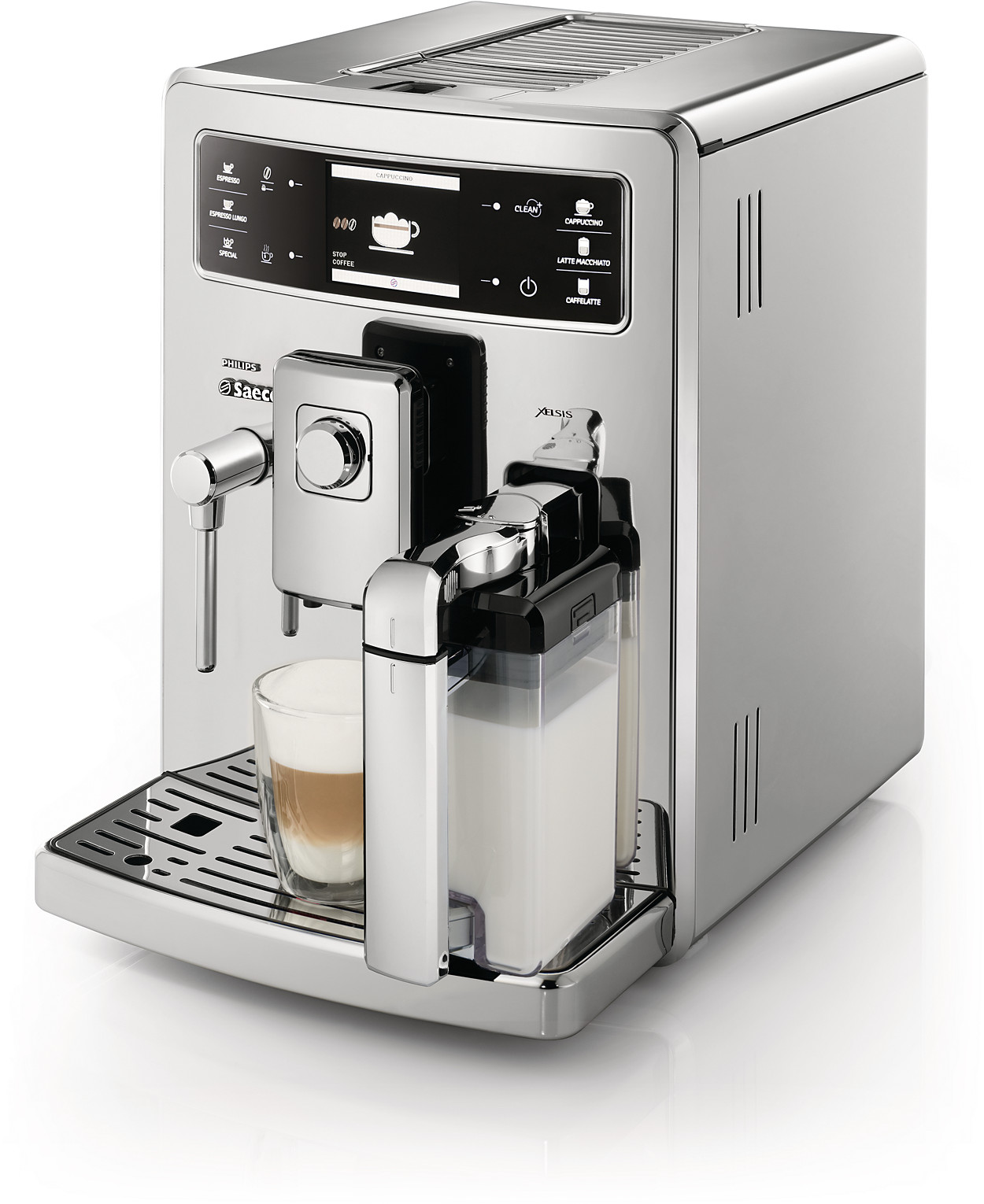 xelsis super automatic espresso machine hd8946 01 saeco. Black Bedroom Furniture Sets. Home Design Ideas