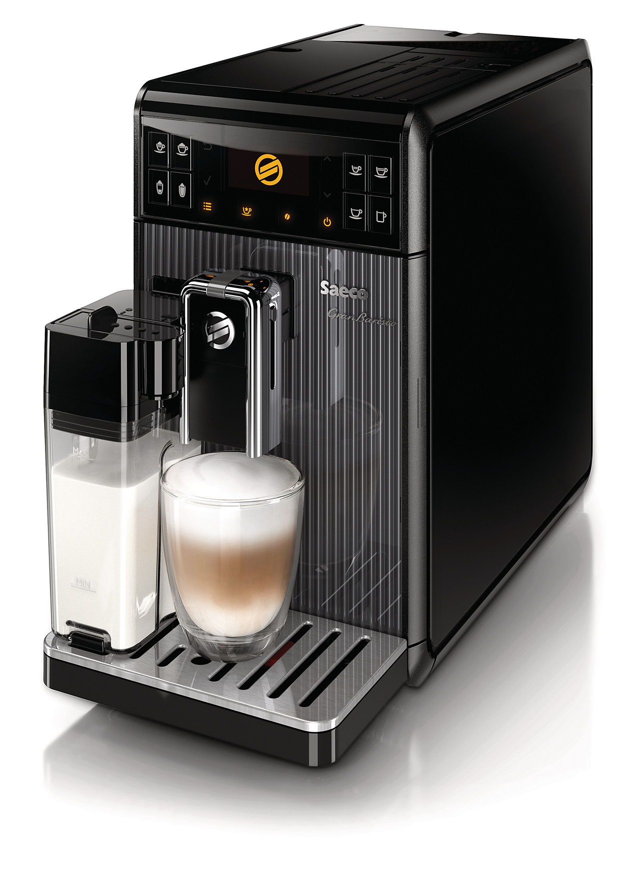 buy the saeco granbaristo super automatic espresso machine. Black Bedroom Furniture Sets. Home Design Ideas