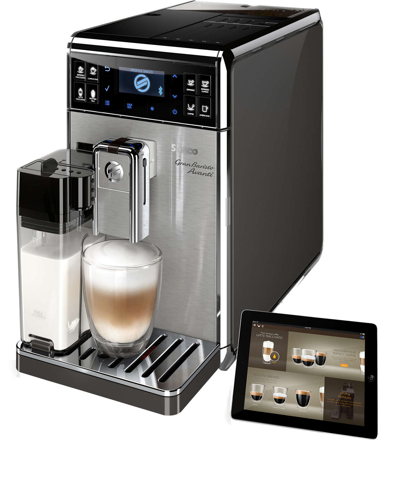 The most advanced at-home coffee experience