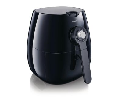 Philips Viva Collection Airfryer HD9220/26 Low fat fryer Multicooker Black 800 g with Rapid Air technology