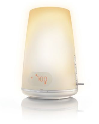 Philips  Wake-up Light Plus USB playback HF3485/60
