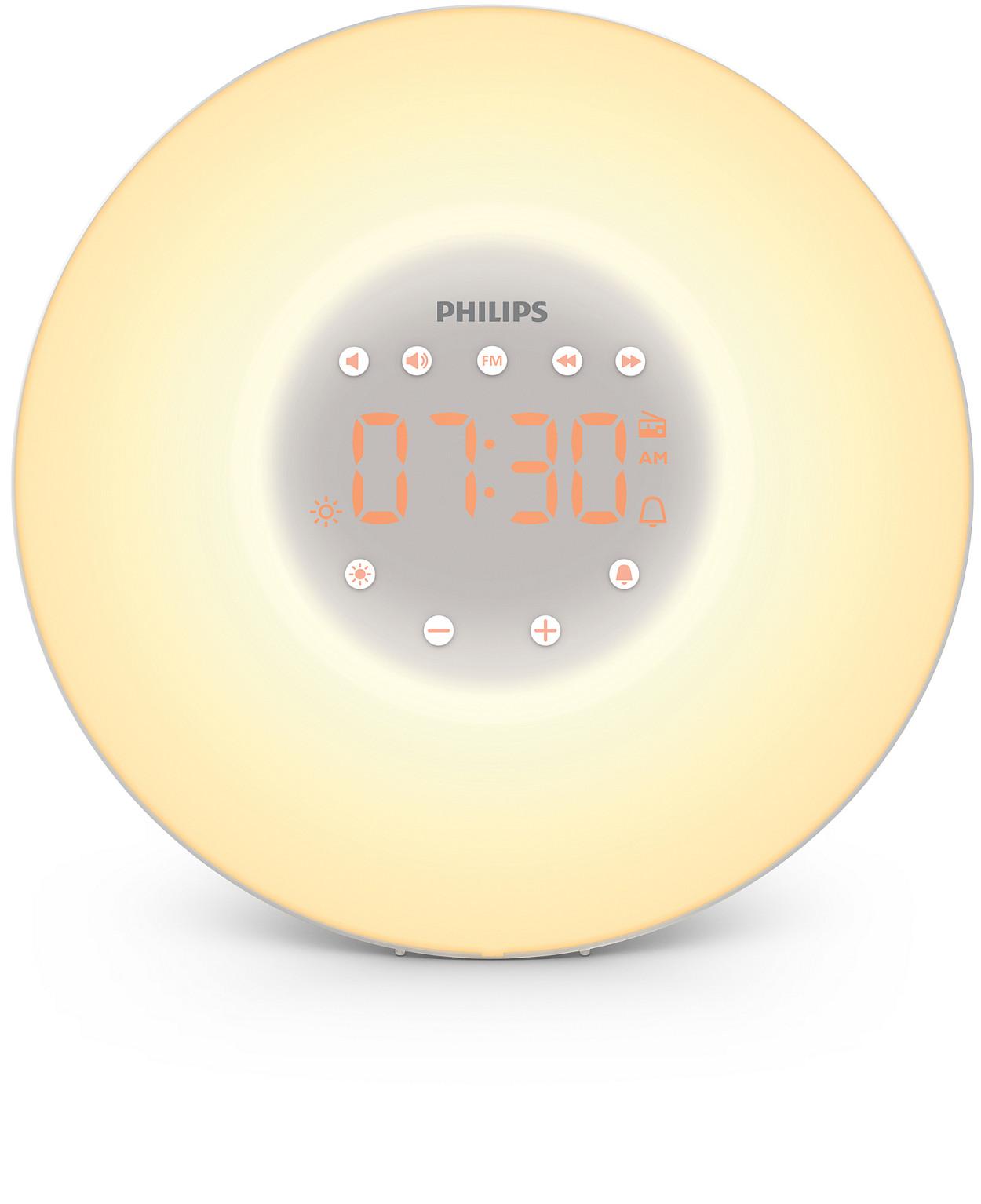 buy the philips wake up light hf3505 60. Black Bedroom Furniture Sets. Home Design Ideas