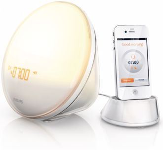 Philips  Wake-up Light Operated by iPhone App HF3550