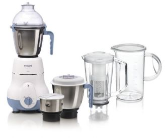 Philips  Mixer Grinder 4 jar 600W HL1643/06
