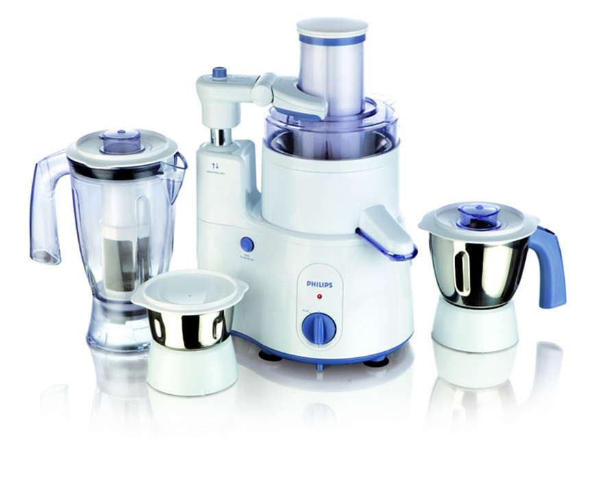 Intelligent range of food processing appliances
