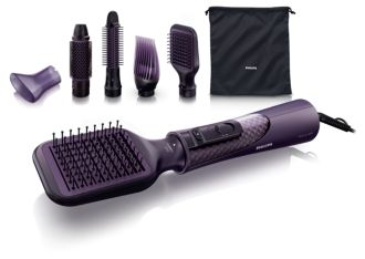 Philips ProCare Brosse soufflante 5 accessoires HP8656