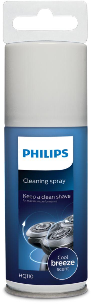 reinigingsspray voor scheerhoofden