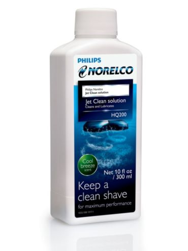 Philips Norelco Jet clean solution