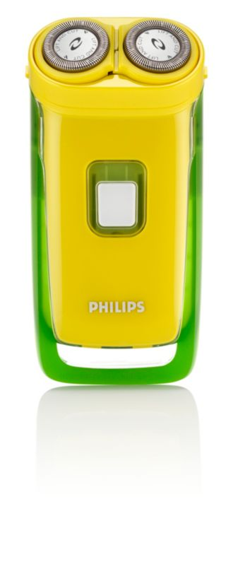 Philips  Electric shaver Yellow/green edition HQ804
