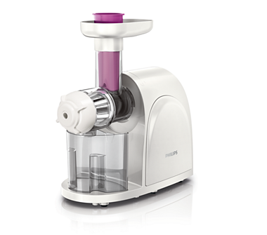 Philips Slow Juicer Hr1830 Review : viva Collection Slow juicer HR1830/03 Philips