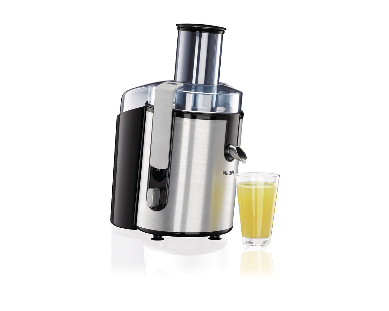 Buy the Philips Aluminium Collection Juicer HR1861/00