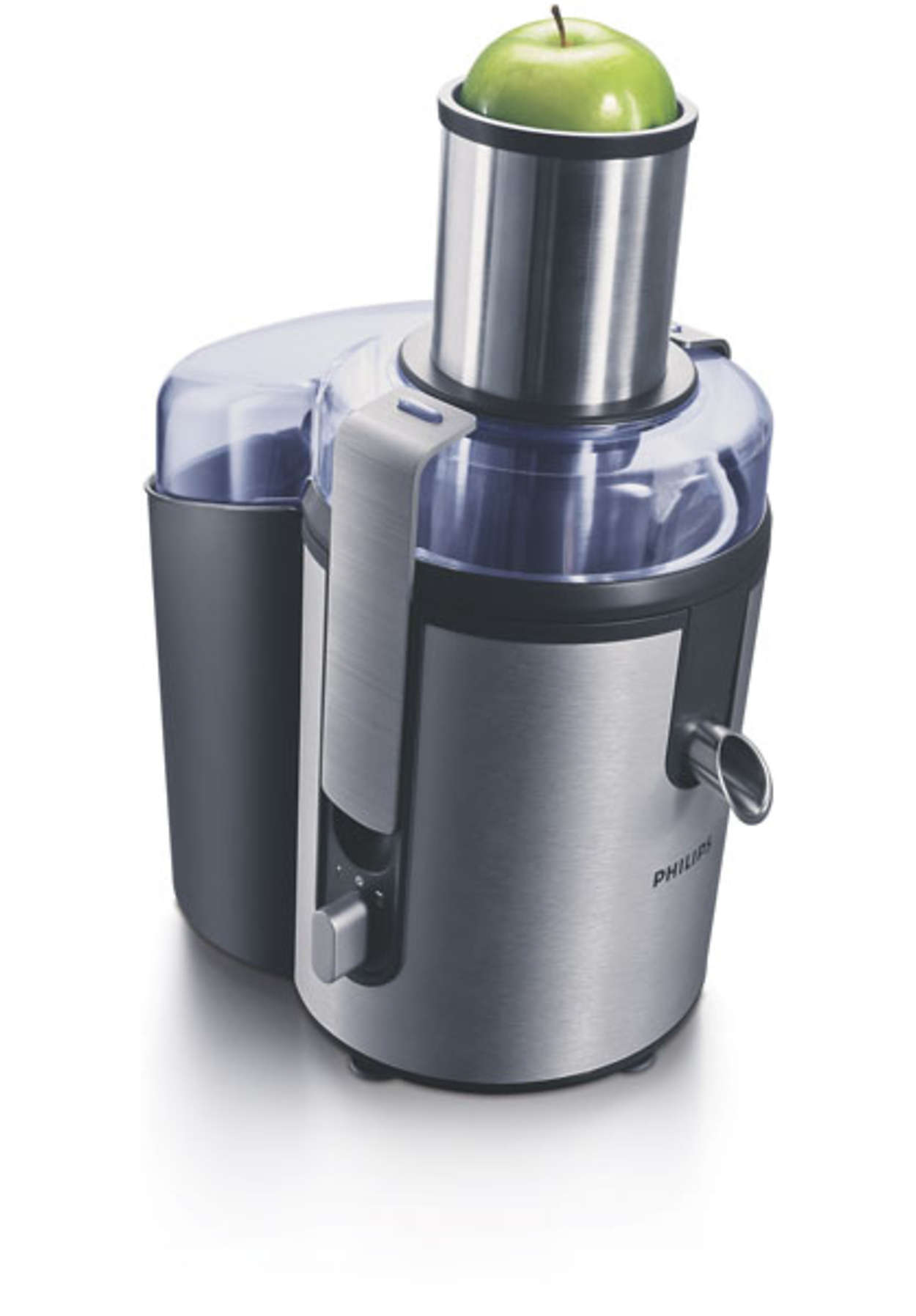 Philips Slowjuicer Elgiganten : Aluminium Collection Juicer HR1865/00 Philips