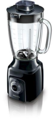 Blender van 600 W met glazen kan van 2 liter