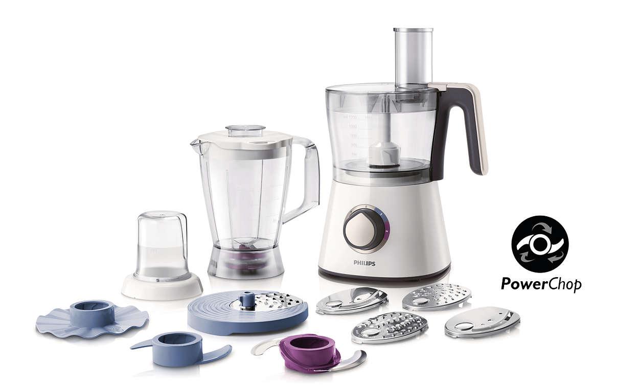 Viva collection robot de cuisine hr7761 00 philips for Robot cuisine philips