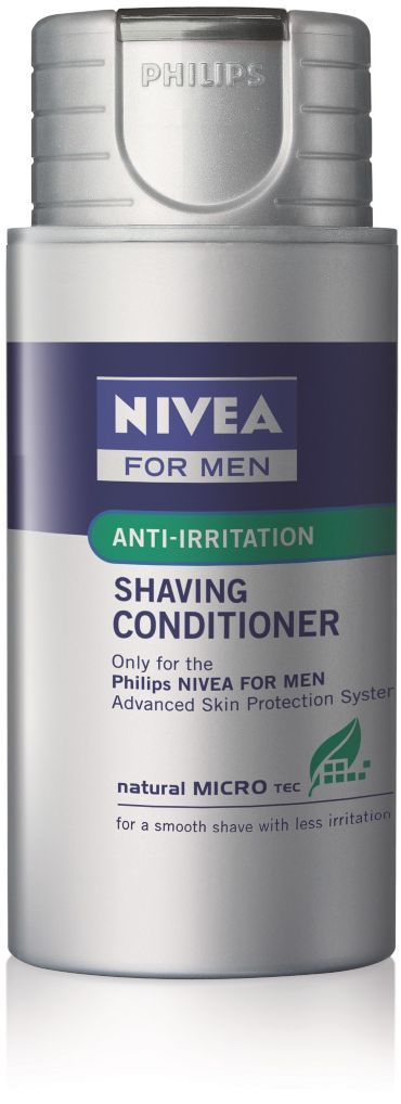 with Natural MICRO tec Shaving conditioner