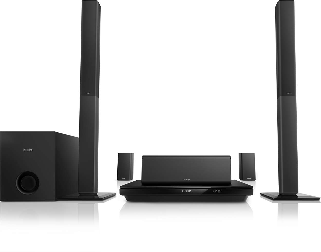 5 1 3d blu ray home entertainment system htb3550g 12 philips. Black Bedroom Furniture Sets. Home Design Ideas