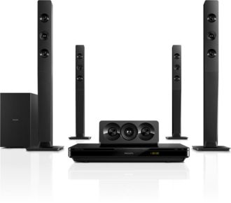 Philips  5.1 Home theater 3D Blu-ray HTB3570/94