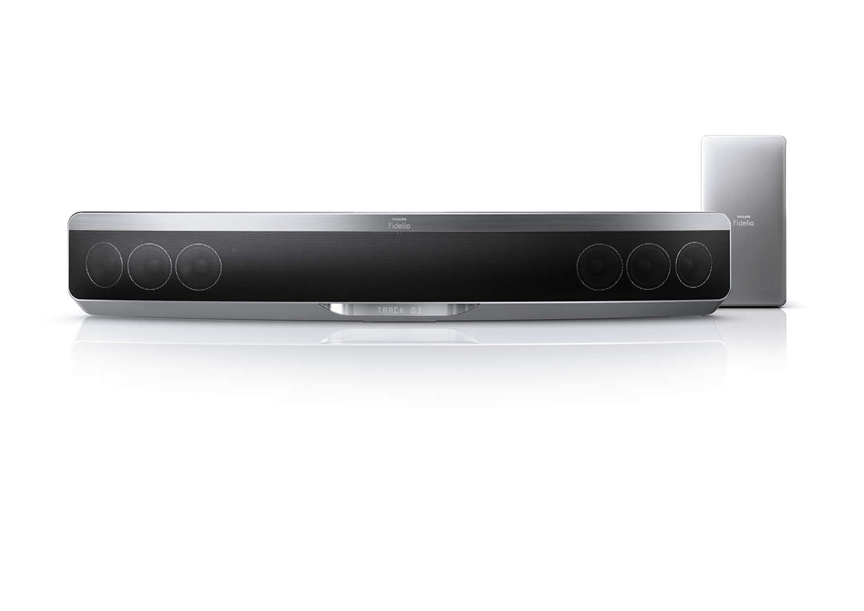 The slimmest SoundBar with Ambisound yet