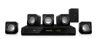 Philips  Sistema de Home Theater 5.1  HTD3500/78