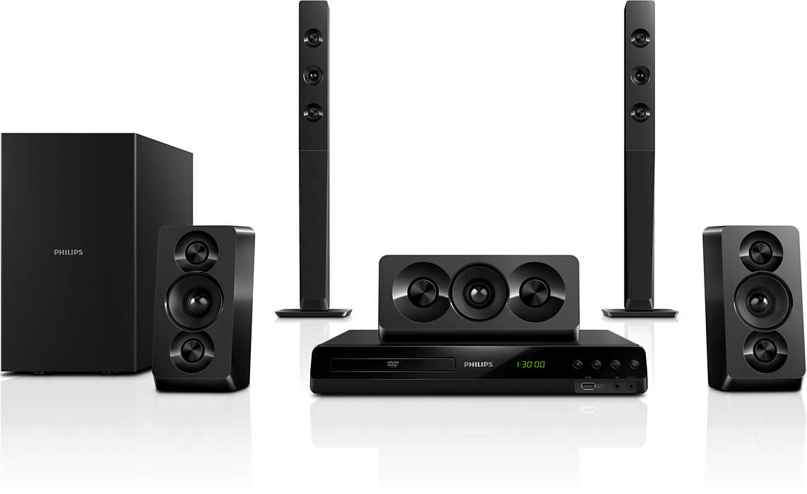 Powerful cinematic surround sound with deep sound