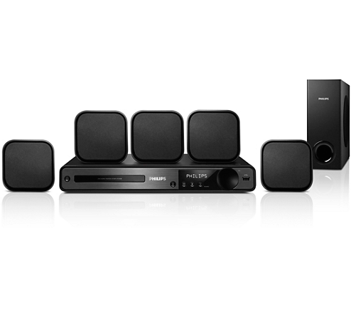 5 1 home theatre hts3020 05 philips. Black Bedroom Furniture Sets. Home Design Ideas