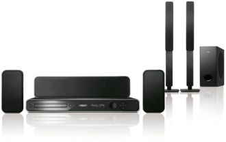 Philips  DVD home theater system  HTS3366/98