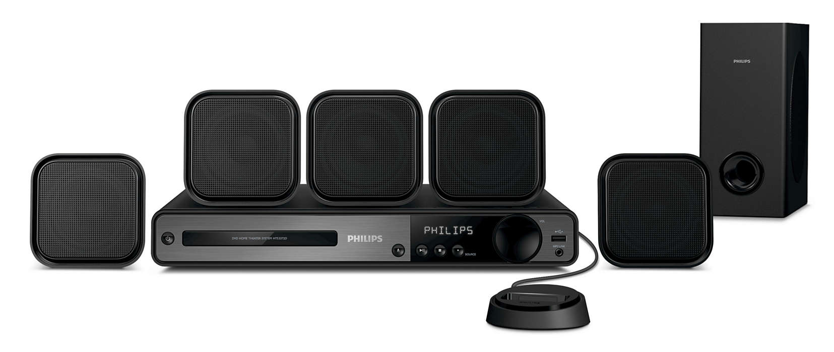 Spectacular surround sound with superb clarity