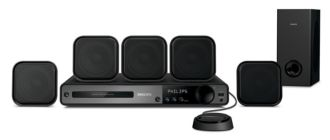 Philips  DVD home theater system  HTS3372D/F7