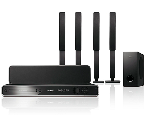 dvd home theatre system hts3568 98 philips. Black Bedroom Furniture Sets. Home Design Ideas