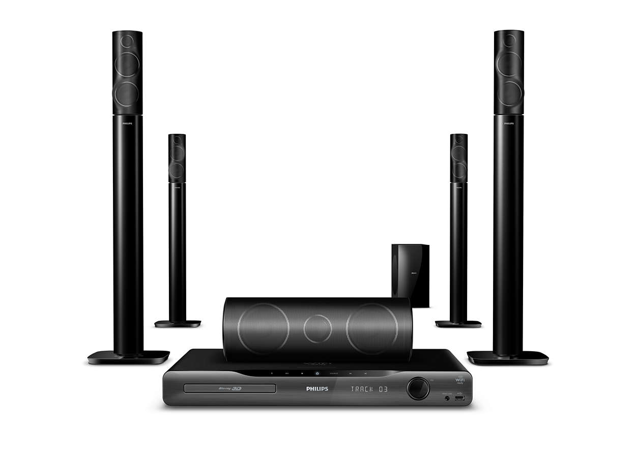 5 1 home entertainment system hts5591 12 philips. Black Bedroom Furniture Sets. Home Design Ideas