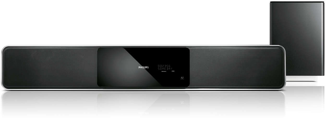 Home Theater 5.1 compacto